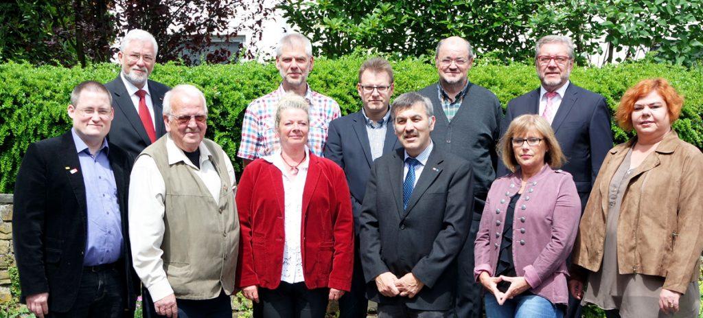 Der Vorstand der SPD Meinerzhagen