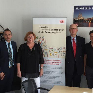 Bündnis zum Erhalt der Güterverkehrsstelle Krummenerl und Brügge